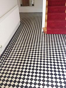 Edwardian stone floor cleaners