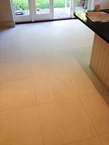Limestone floor cleaning, Weybridge, Surrey